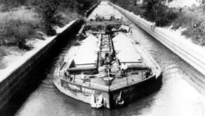 Material Services Barge