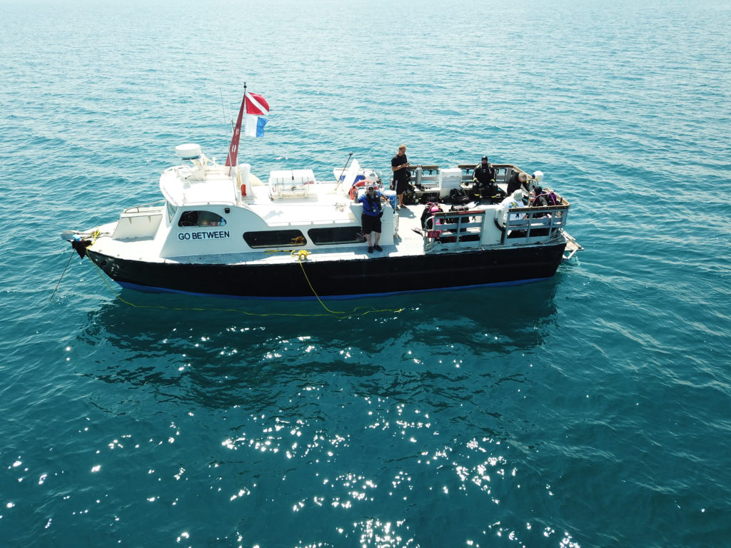Come dive Go Between, the finest dive boat on Lake Huron! Diving shipwrecks from Port Sanilac to Harbor Beach.